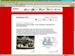 Honda CV Matic